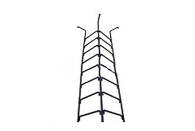 Лестница НТС 111Б Л-15 для тепловых сетей  с перилами